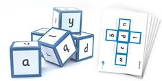 These lovely sound dice are a teaching essential! A fantastic way to reinforce your teaching of phase one sounds and involve the whole class.