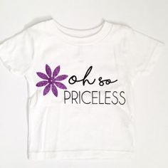 Oh so Priceless Kids Tee at freecitizenco.com/shop