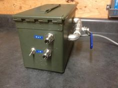 Chugger pump in an ammo box build - Home Brew Forums