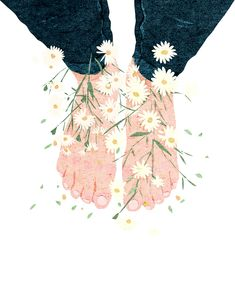 New Flowers Spring Illustration Watercolors Ideas Art And Illustration, Magazine Illustration, Cat Anime, Anime Art, Kunst Inspo, Art Inspo, Spring Drawing, Background Drawing, Anime Kunst