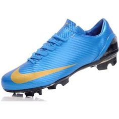 http://www.asneakers4u.com Nike Mercurial SL New Design Mens Soccer Cleats   In Blue Yellow on saleOUT OF STOCK
