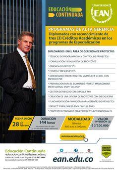 #NOVOCLICK esta con UNIVERSIDAD #EAN y sus Diplomados en GERENCIA DE PROYECTOS