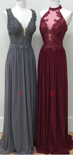 Red Prom Dresses,Gray Prom Dresses,Women Dresses,Cute Dresses, Simple Chiffon Lace Prom Dresses,Long Prom Dresses,Evening Dresses,Prom Dresses For Teens,Prom Dresses 2017,Elegant Prom Dress,Cheap Prom Gowns,Party Dresses,Gradaution Dresses