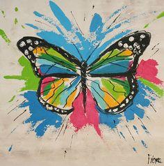 schilderij vlinder - Google zoeken