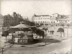 Augusto Malta - Praça 28 de setembro - atual Praça Mauá.