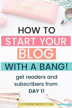 New to blogging? If