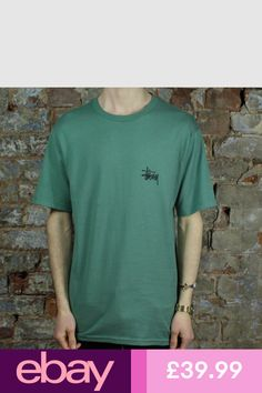 95c3cce525a Stussy T-Shirts #eBay Clothes, Shoes & Accessories Stussy, Streetwear,