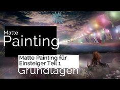 Einstieg ins Matte Painting. Photoshop Tutorial Deutsch