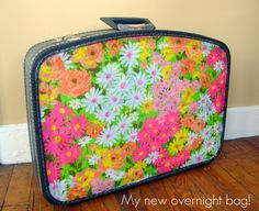 Altered suitcase