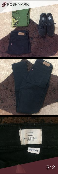 Bold Curve Skinny Levi Jeans NWOT Black Skinny jeans from Levi. Perfect condition. Never worn Levi's Jeans Skinny