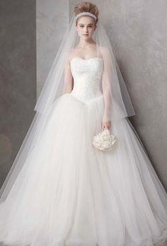 dress - Vera Wang