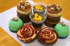 Saponista: My Adventures in Soapmaking: Great Cakes Soapworks May Challenge : Mini Desserts