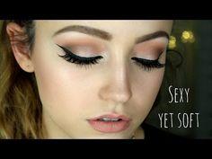Full Face Drugstore Makeup Tutorial & Affordable Brushes! - YouTube