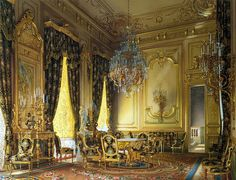 часть 10 Эрмитаж - Премацци, Луиджи - Особняк барона А. Л. Штиглица. Золотая гостиная