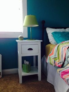 Mini farmhouse nightstand