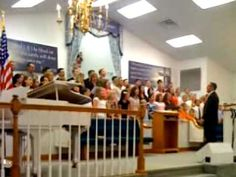 """Trinity Baptist Church Youth Choir sings """"It's been a long journey but I have been blessed"""""""