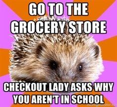 #HomeschoolerProblems