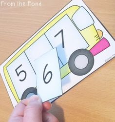 Bus Count - Forward Number Sequence - Counting 1-30