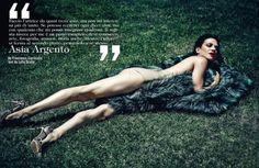 Asia Argento - Vogue Itália, setembro 2013