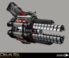 ArtStation - Deus Ex Mankind Divided - Marchenko Secret Arm and Hyperion gun, Bruno Gauthier Leblanc