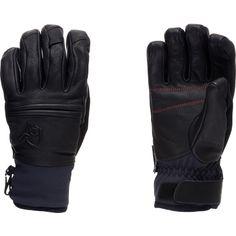 Roldal Dri Ins.Short Leather Gloves 2013: Voilá, die Hightech-Handschuhe von Norrona für Wintersportler mit einer Innenseite aus Ziegenleder. Damit die Hände warm und trocken bleiben, wurden gleich mehrere hochwertige Materialien verarbeitet: PrimaLoft 200 für Isolierung, das 2,5-Lagen-Material dri1 für besten Feuchtigkeitstransport und das wind- und wasserabweisende Softshell-Material flex1 am Bund.