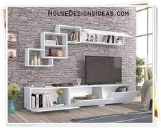 TV Stand Unit Cabinet Ideas Latest 2020 - House Designs Modern Tv Cabinet, Tv Cabinet Design, Bedroom Wall Units, Living Room Tv Unit Designs, Tv Stand Unit, House Design, Tv Wall Design, Tv Room Design, Wall Tv Unit Design