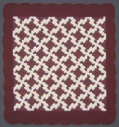 Solomon's puzzle Amish quilt.
