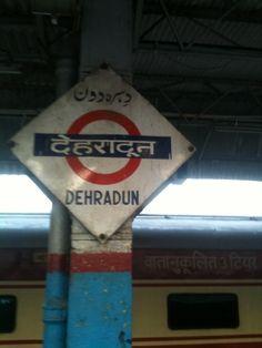 Dehradun Railway Station in Dehradun, Uttarakhand