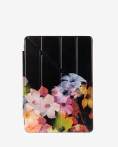 Cascading floral iPad Air case - Black | Gifts for Her | Ted Baker