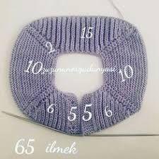 Merabalarr Hirkamiz 65 Ilmek 3 Bucuk No Bebeksapka - Diy Crafts - Hadido - Diy Crafts Baby Knitting Patterns, Knitting Charts, Baby Patterns, Hand Knitting, Gilet Crochet, Knitted Baby Cardigan, Baby Pullover, Diy Crafts Knitting, Diy Crafts Crochet