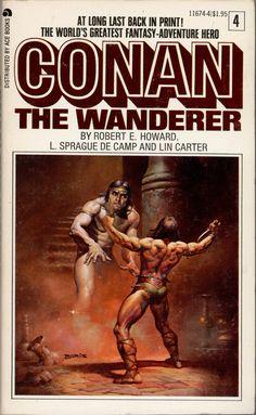 Conan the Wanderer by Robert E. Howard, Lasprague de Camp & Lin Carter