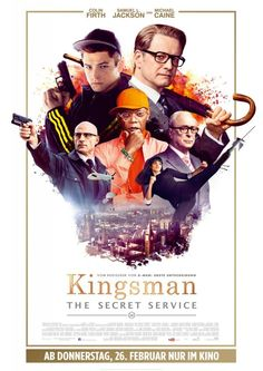 New International 'Kingsman: The Secret Service' Poster Provides 60′s Styling
