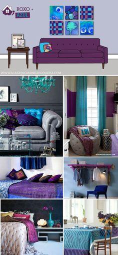 5 formas de harmonizar o ROXO na decoração #purple