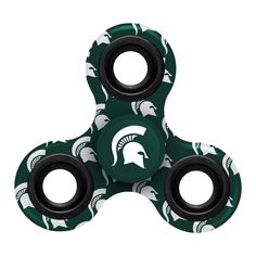 Michigan State Spartans NCAA Fidget Diztracto Spinner - Three Way Printed **PREORDER - SHIPS LATE JUNE / EARLY JULY**