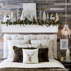 Sophisticated glamour meets cozy-cabin charm in this #Christmas collection!