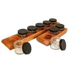 Waldorf Wooden Paint Jar Holder    Handcrafted from solid cherry and sealed with natural beeswax, this organically shaped paint jar holder keeps paint close at hand and prevents spills.