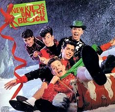 Merry, Merry Christmas - New Kids On The Block (1989). Still have a copy--it's not Christmas without it!