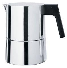 Alessi Pina italienischer Kaffeebereiter 6 Tassen – Alessi