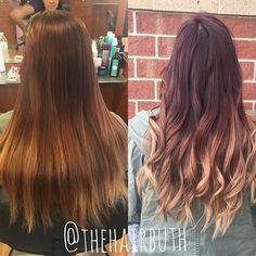 SUNSET 🌅 #nofilter #spalon #spalonmontage #salon #hayleyatspalon #thehairbuth #cosmetology #cosmetologist #hair #haircut #haircolor #color #woodburyhair #job #career #askforhayley #loreal #lorealpro #cut #hairstylist #minnesotahair #twincities #licensedtocreate #naturallight #red #copper #blonde #sunsethair #fallhair