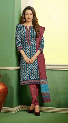 Karisma Kapoor In Off White Churidar Kameez BR106644