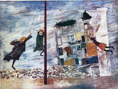 Ben Shahn Paintings | Liberation - Ben Shahn Paintings Wallpaper Image