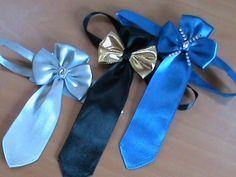 Праздничный галстук для мальчиков в стиле канзаши