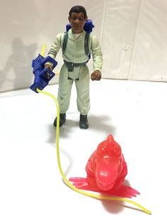 1986 WINSTON ZEDDMORE • C7-8 • 100% COMPLETE • VINTAGE THE REAL GHOSTBUSTERS #Kenner