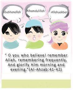 Quran 33:41-42