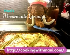 Completely fun and easy to make... not to mention super delicious! http://cookingwithmani.com/homemade-lasagna/