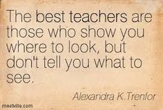 What should teachers teach more of?