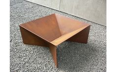 Small Geometric Fire Pit - can add grill grate or cedar top to work as table