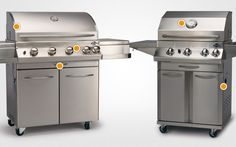 Handy guide for what to look for in a BBQ. Lux Series, Grills, Stove, Bbq, Jackson, That Look, Outdoor Decor, Home Decor, Barbecue
