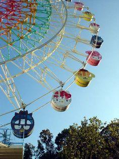 Sanrio Park Harmonyland in Oita, Japan