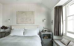 Boho Deco Chic: Una casa de campo blanca y gris